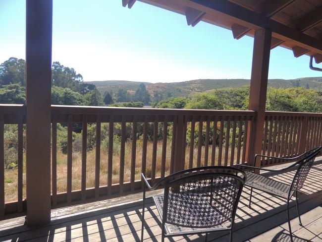 Tranquil view of surrounding nature from back deck